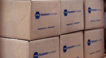 custom packaging services for industrial vendors of fasteners and fittings